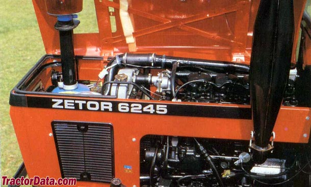 Zetor 6245 engine photo