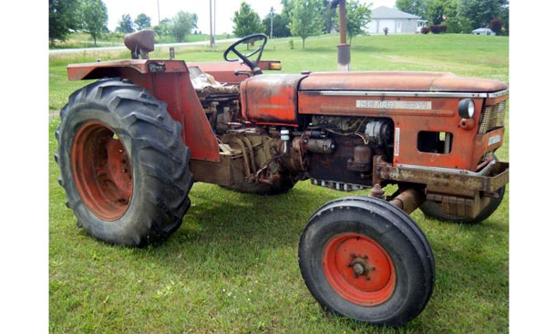 Zetor 6711, right side