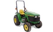 John Deere 4200 tractor photo