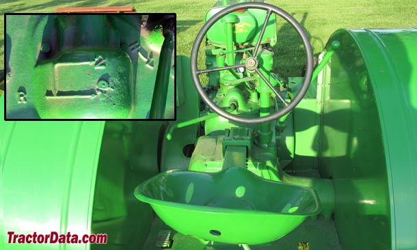 John Deere AR  transmission photo