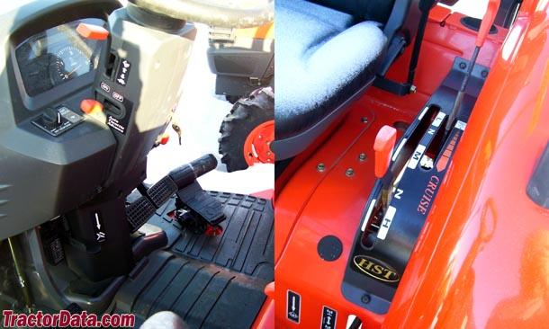 TractorData com Kubota L4740 tractor transmission information