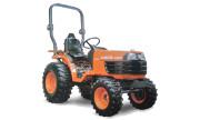 Kubota B7610 tractor photo