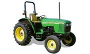 John Deere 5210 tractor photo