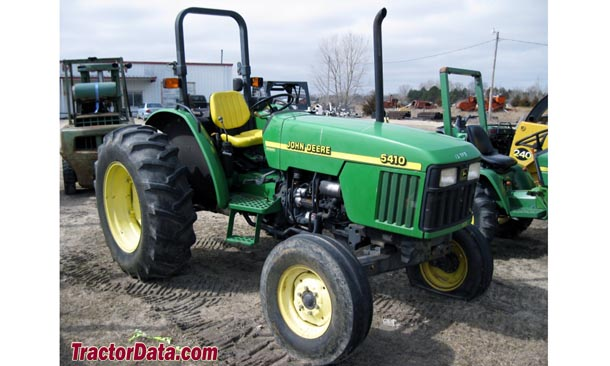 Two-wheel drive Deere 5410 with ROPS