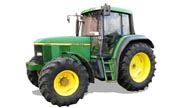John Deere 6110 tractor photo