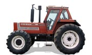 Fiat 160-90 tractor photo