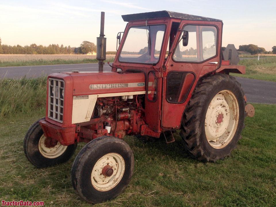 tractordata com international harvester 474 tractor photos information rh tractordata com International 350 Tractor Orchard Tractor