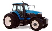 AGCO White 125 tractor photo