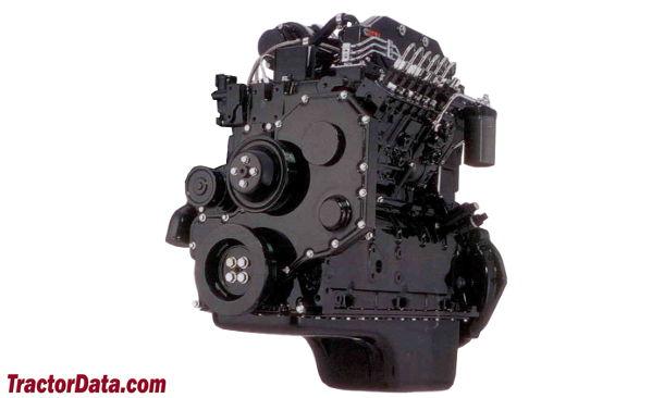 AGCO White 6810  engine photo