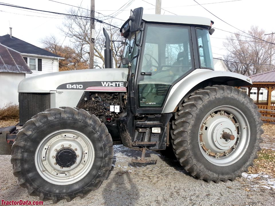 Agco white 8410 tractor photos information for 8410 3