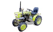 Yanmar YM135 tractor photo