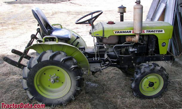 Yanmar YM155D, right side