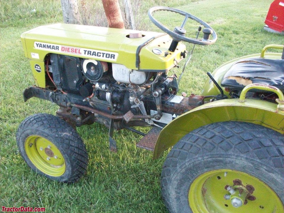 Yanmar YM155 Tractor Photos Information