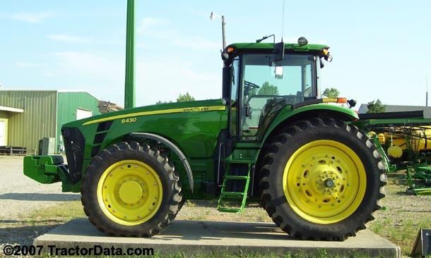 TractorData.com John Deere 8430 tractor photos inf