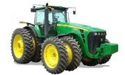 John Deere 8530 tractor photo