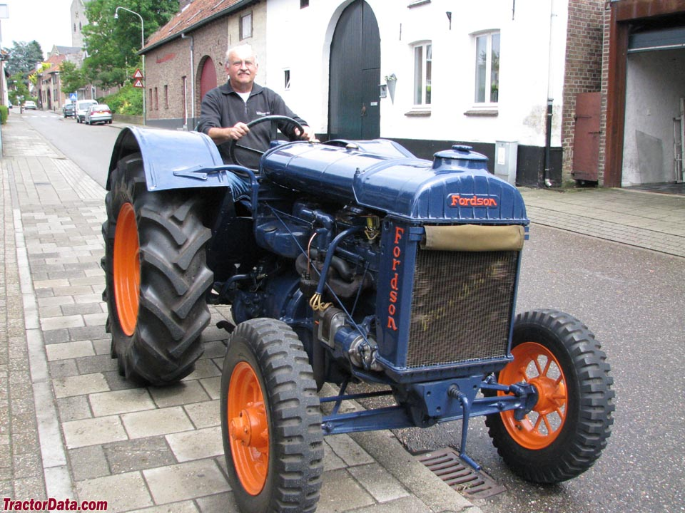 Fordson model N front view
