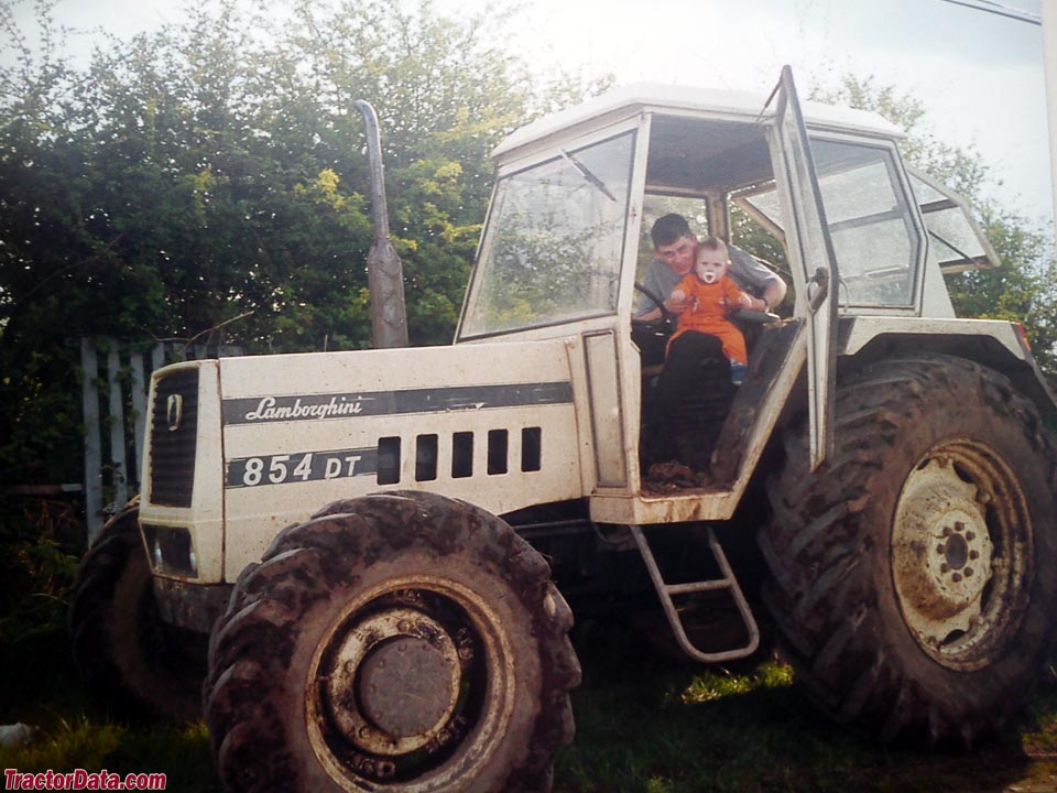Tractordata Com Lamborghini 854 Tractor Photos Information