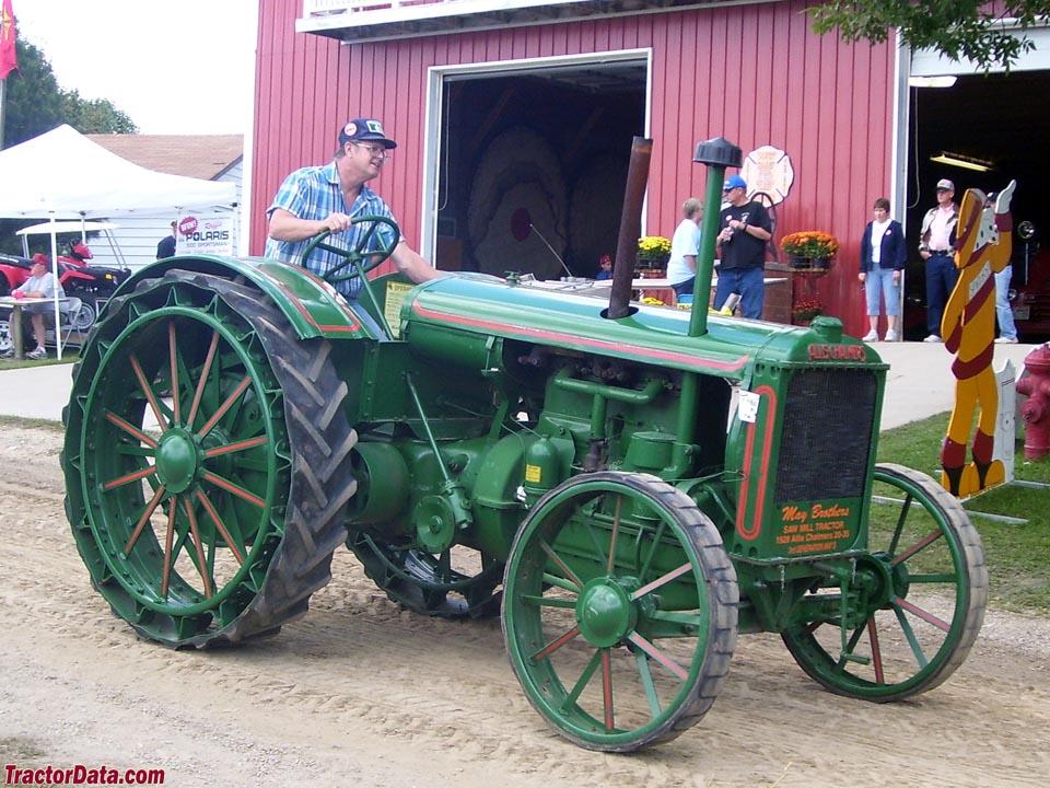 Tractordata Com Allis Chalmers 20 35 Tractor Photos Information