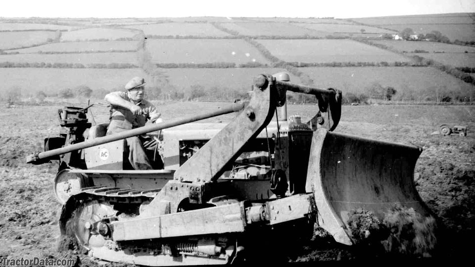 Allis-Chalmers WM in West Wales, UK, in the 1950s. Right side.