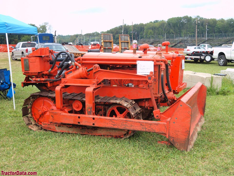 Allis-Chalmers WM with dozer blade.