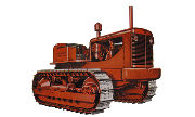 Allis Chalmers HD5B tractor photo