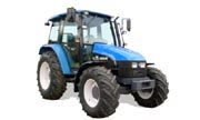 New Holland TN75 tractor photo