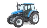 New Holland TS110 tractor photo