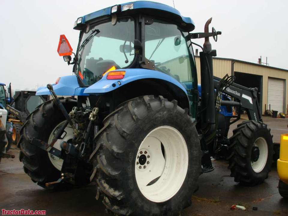 TractorData com New Holland TS115A tractor photos information