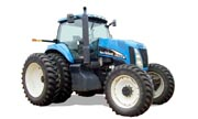 New Holland TG210 tractor photo