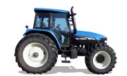 New Holland row-crop TM130 tractor photo