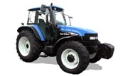 New Holland row-crop TM140 tractor photo