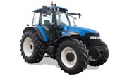 New Holland row-crop TM155 tractor photo