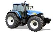 New Holland row-crop TM190 tractor photo