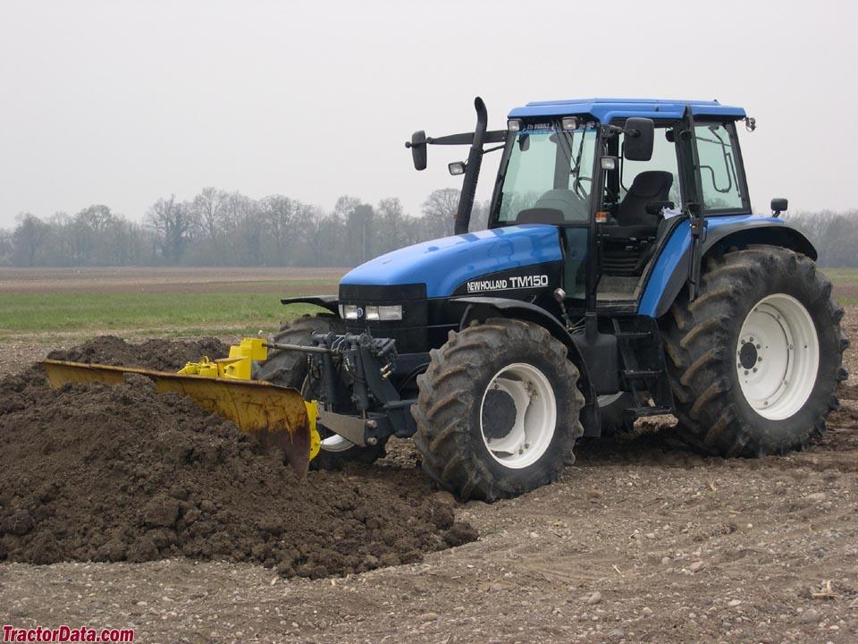 TractorData com New Holland TM150 tractor photos information