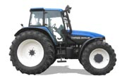 New Holland TM165 tractor photo