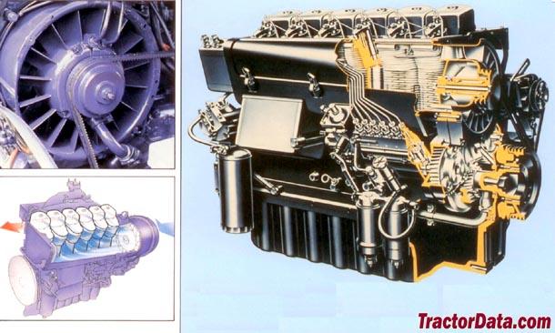 Deutz-Allis 7110  engine photo