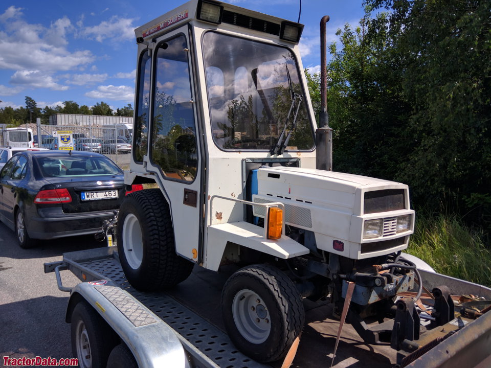 Mitsubishi Tractor 180 : Tractordata mitsubishi mt tractor photos information