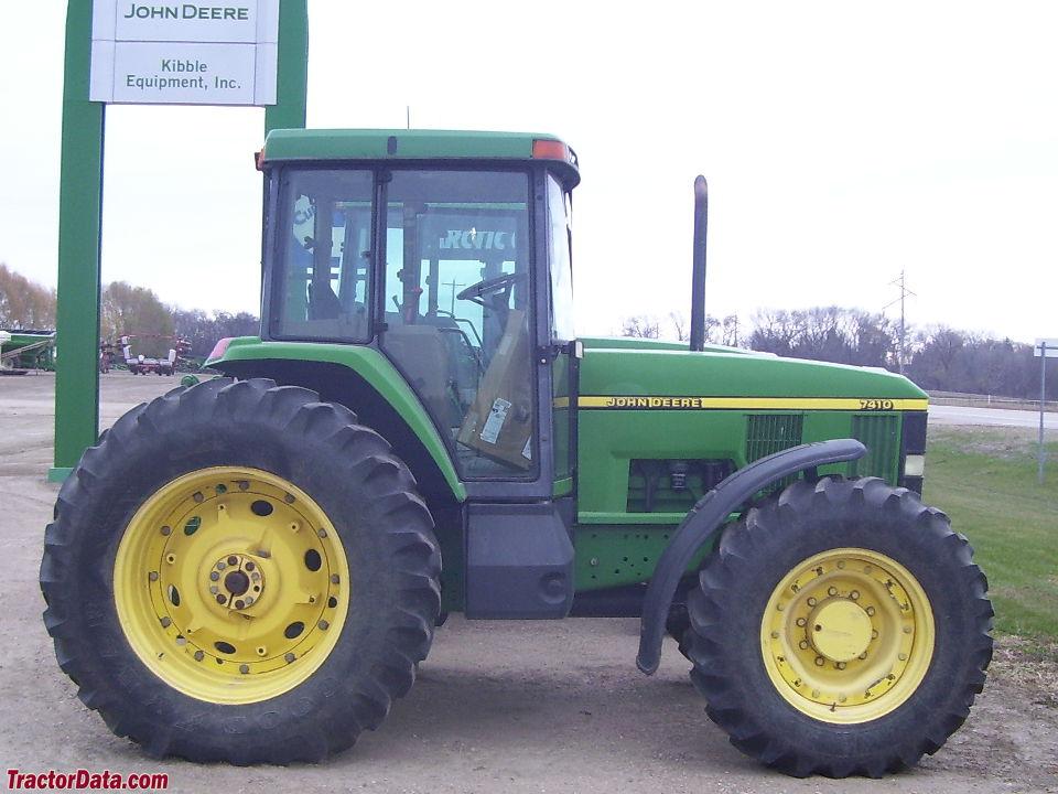 TractorData.com John Deere 7410 tractor photos information