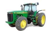 John Deere 8110 tractor photo