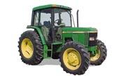 John Deere 6410 tractor photo