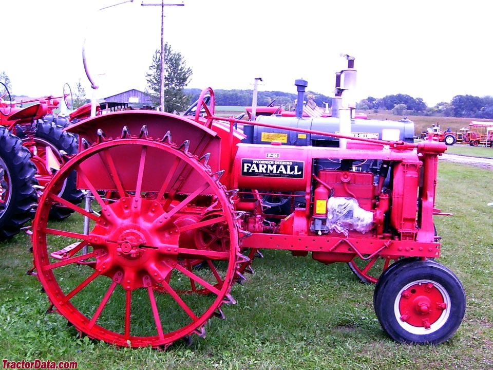 Farmall Steel Wheels : Tractordata farmall f tractor photos information