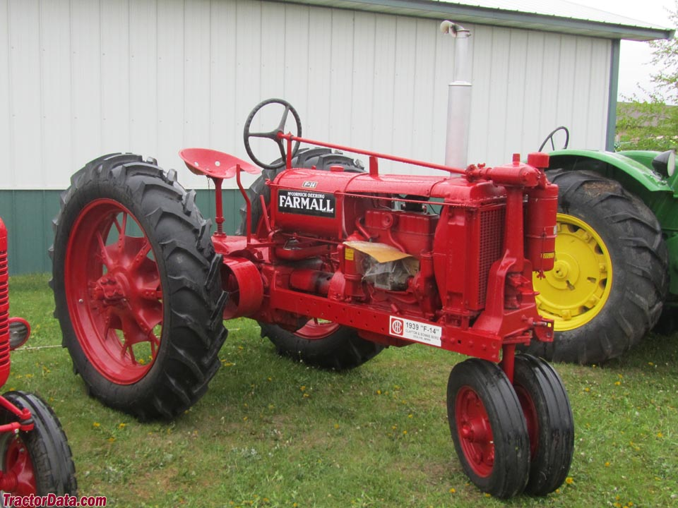 Farmall F-14 on rubber tires.