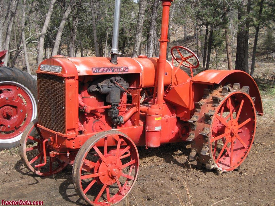 Tractors With Steel Wheels : Tractordata mccormick deering w tractor photos