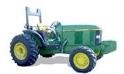 John Deere 6510L tractor photo