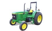 John Deere 6405 tractor photo