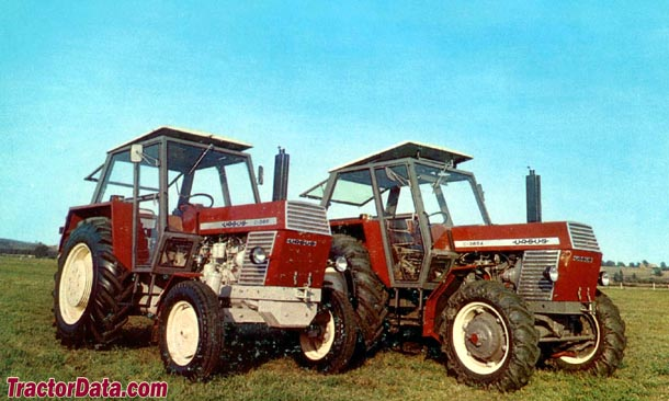 Ursus C-385 and C-385A tractors