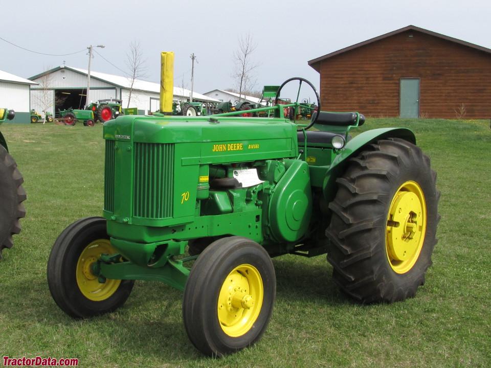 John Deere 70 Tractor : Tractordata john deere standard tractor photos