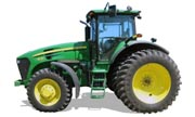 John Deere 7630 tractor photo