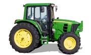 John Deere 6430 tractor photo