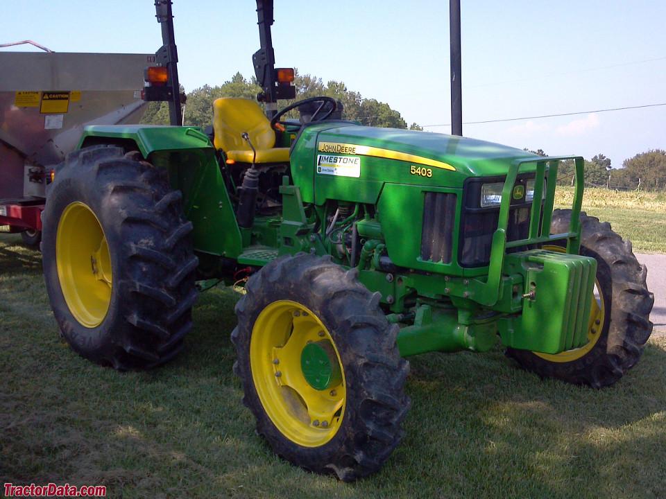 John Deere 5403 Tractor 4x4 : Tractordata john deere tractor photos information